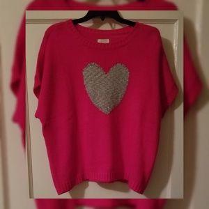 Childrens Place Girls Short Sleeve Sweater Sz 10